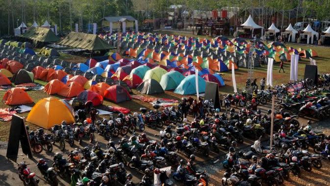Suryanation Ajak Bikers Sulawesi Touring dan Camping di Dataran Tinggi