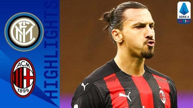 VIDEO: Gol-Gol dan Beragam Peluang yang Tercipta Saat AC Milan Taklukkan Inter Milan 2-1 di Liga Italia