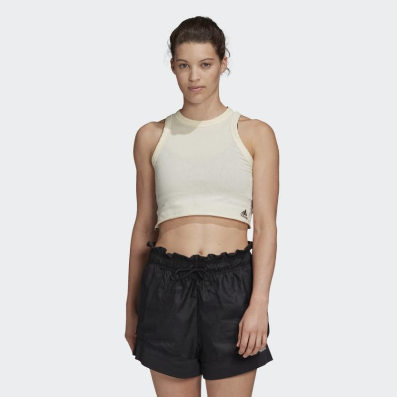 Must Haves Recycled Cotton Crop Tank Top