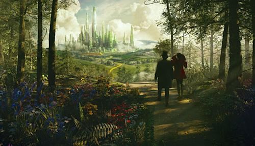 oz the great and powerful trailer cover