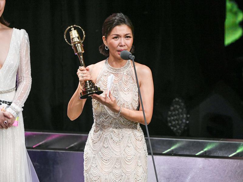 《俗女養成記》于子育 首獲迷你劇集女配角獎