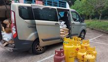 警吐露港公路截查殘缺貨車 司機駕殘車超載獲發傳票