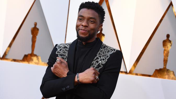 Chadwick Boseman. (Jordan Strauss/Invision/AP)