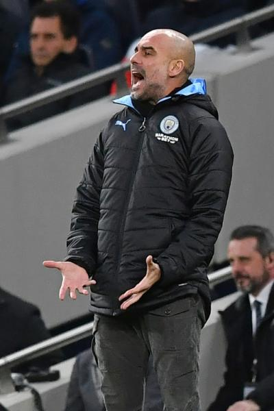 Guardiola's City have lost six league matches this season