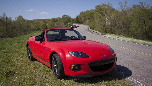 Road-tripping the Mazda MX-5 Miata for the crown of sports car king