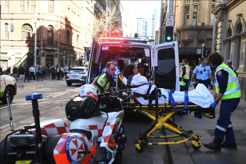 Sydney stabbing chair man: 'You have to do something'