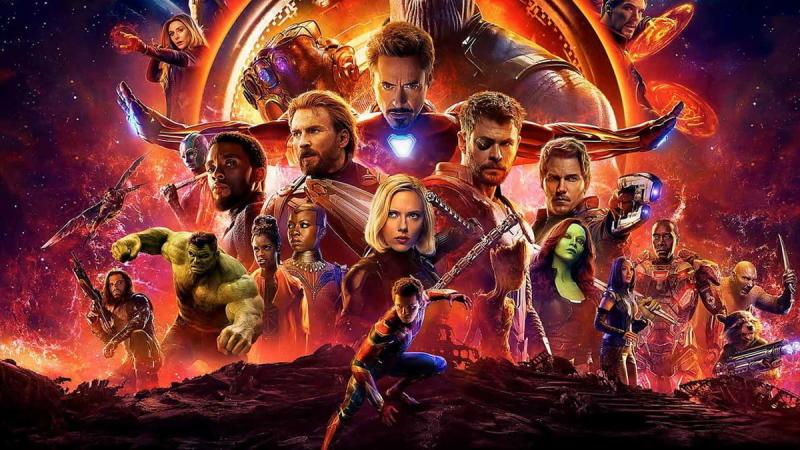 Promotional artwork for Avengers: Infinity War
