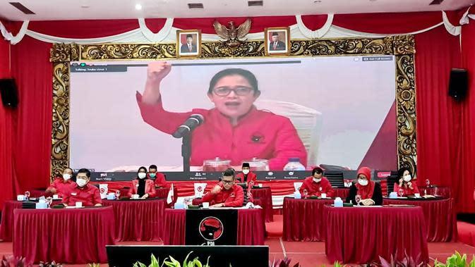 Pengumuman Calon Kepala Daerah Pilkada 2020 Gelombang V PDIP. (Foto: Dokumentasi PDIP)