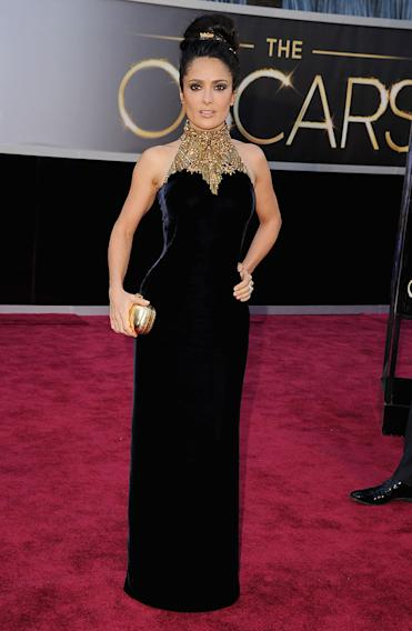 85th Annual Academy Awards - Arrivals: Salma Hayek