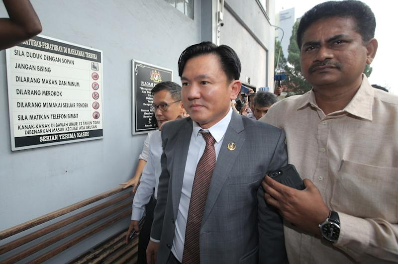 Perak state executive councillor Paul Yong was charged yesterday with raping his 23-year-old former maid on July 7 at a house in Meru, Ipoh and has pled not guilty. — Picture by Farhan Najib