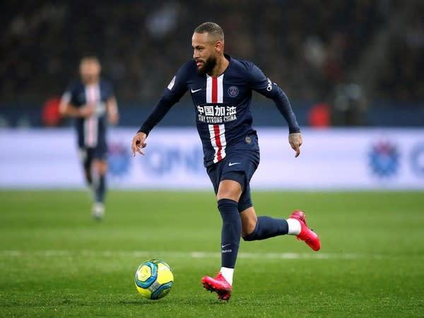 Paris Saint-Germain striker Neymar.