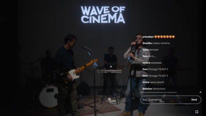 Wave of Cinema, Gelombang Pertama Konser Virtual Paduan Film dan Musik
