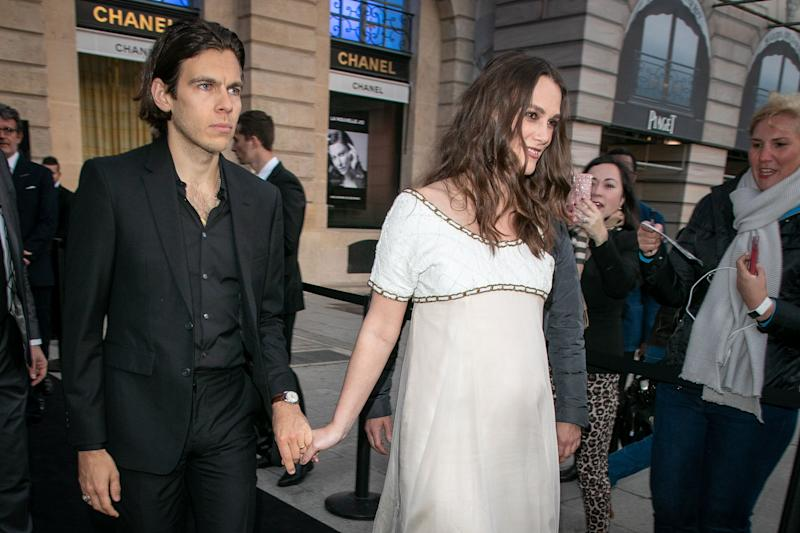 Keira Knightley Pregnant with Second Child, Debuts Baby Bump at Chanel Party!