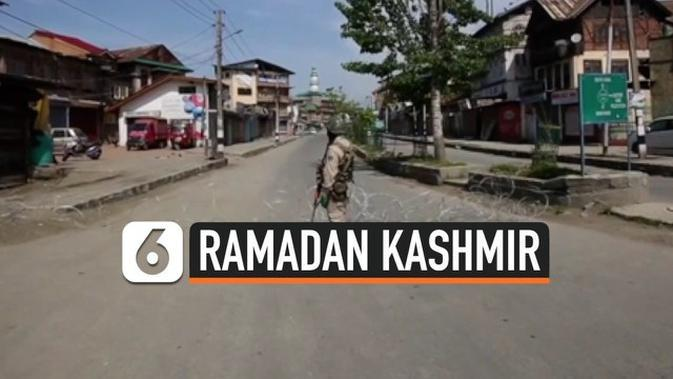 VIDEO: Sunyi Ramadan di Kashmir Akibat Lockdown Corona