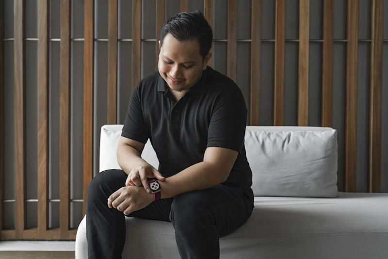 Farhat Haniff had no idea his Apple Watch purchase would be as life-changing as it was.— Picture courtesy of Apple