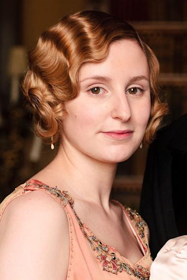 "Lady Edith Crawley, ""Downton Abbey"" (PBS)"