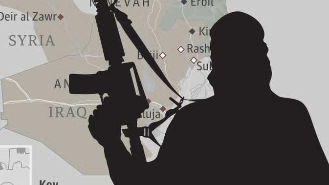 Ilustrasi ISIS (Liputan6.com/Sangaji)
