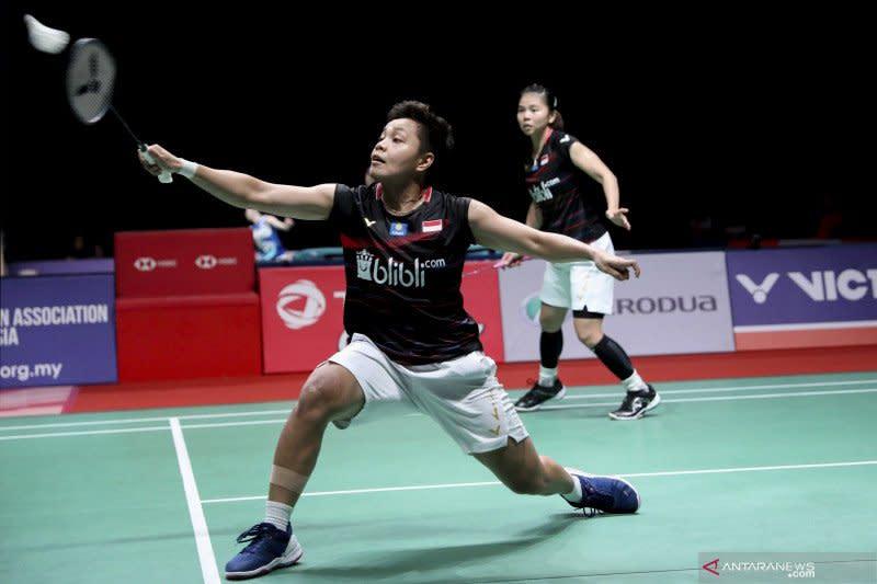 Debut perdana, Owi/Apriyani masuk babak utama Indonesia Masters 2020