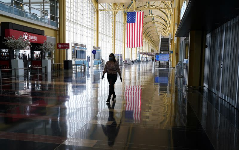 U.S. will let air carriers suspend more flights, warns on refunds