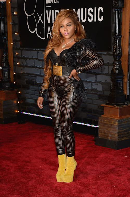 Lil Kim's 2013 Video Music Awards Look Quite Different Than 1999