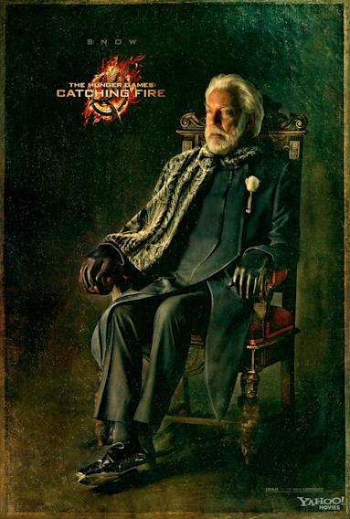Hunger Games Catching Fire Captiol Portrait President Snow