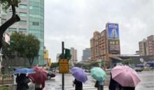 東北風+颱風帶來水氣!全台各地有雨 氣溫下探19度