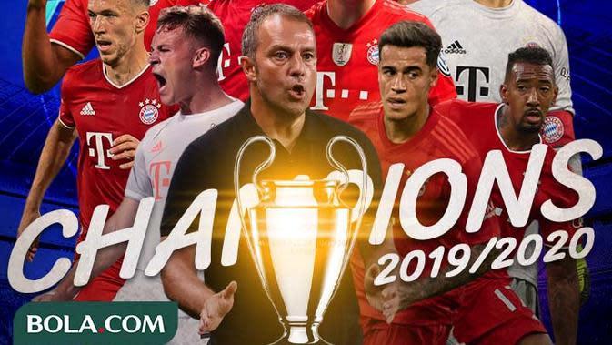 Liga Champions - Bayern Munchen Juara Liga Champions (Bola.com/Adreanus Titus)