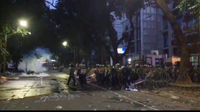 Polisi Tangkap Terduga Dalang Demo Anarki Tolak Omnibus Law di Sumut