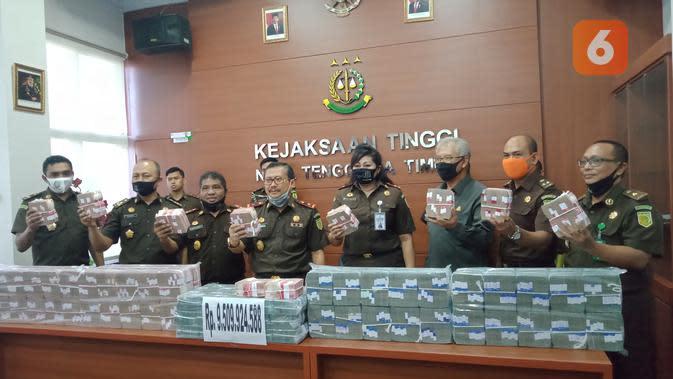 Kejati NTT Sita Rp9,5 Miliar dari Kasus Kredit Macet Bank NTT Cabang Surabaya
