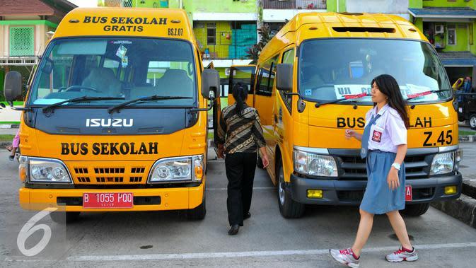 Dishub DKI Siagakan 50 Bus Sekolah di 4 Stasiun Daerah Penyangga