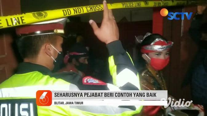 VIDEO: Kapolres Blitar Bubarkan Pertunjukan Wayang Tak Berizin
