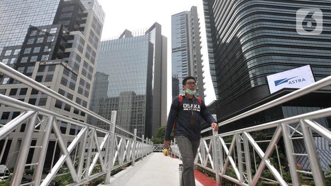 Revitalisasi JPO Jalan Sudirman akan Dilengkapi Lift