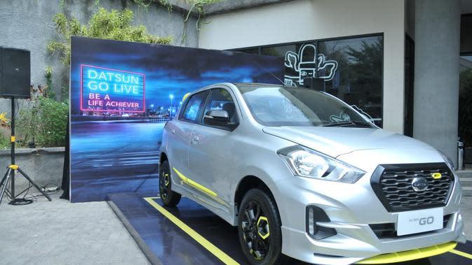 Datsun GO-live Special Version hadir di IIMS Surabaya 2018 (Dian/Liputan6.com)