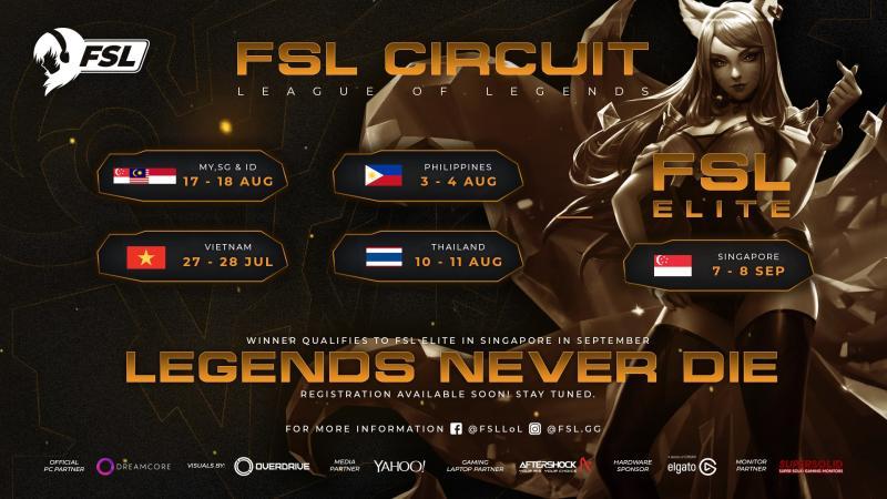 Female Esports League Circuit League of Legends