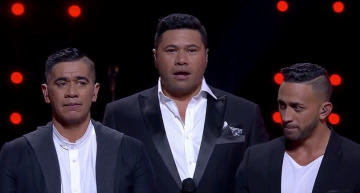 New Zealand band The Koi Boys were in Christchurch on the day of the mosque shootings in March. Photo: Channel Nine