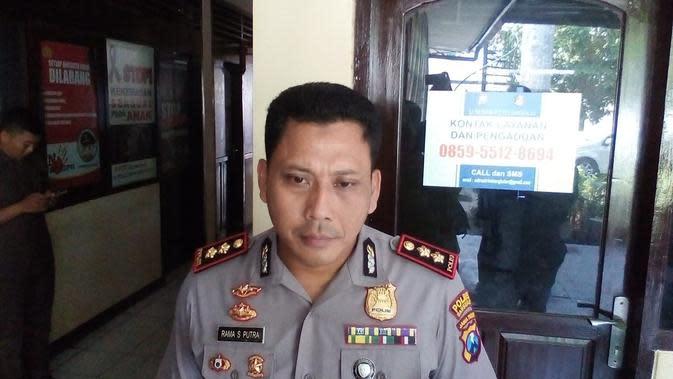 Kepala Polres Bangkalan, AKBP Rama Samtama Putra