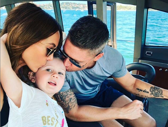 Bella suffers from asthma like millions of Aussies. Photo: Instagram/michaelclarkeofficial