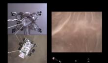 【有片】人類首次聽到火星的聲音 NASA公開多視角登陸過程