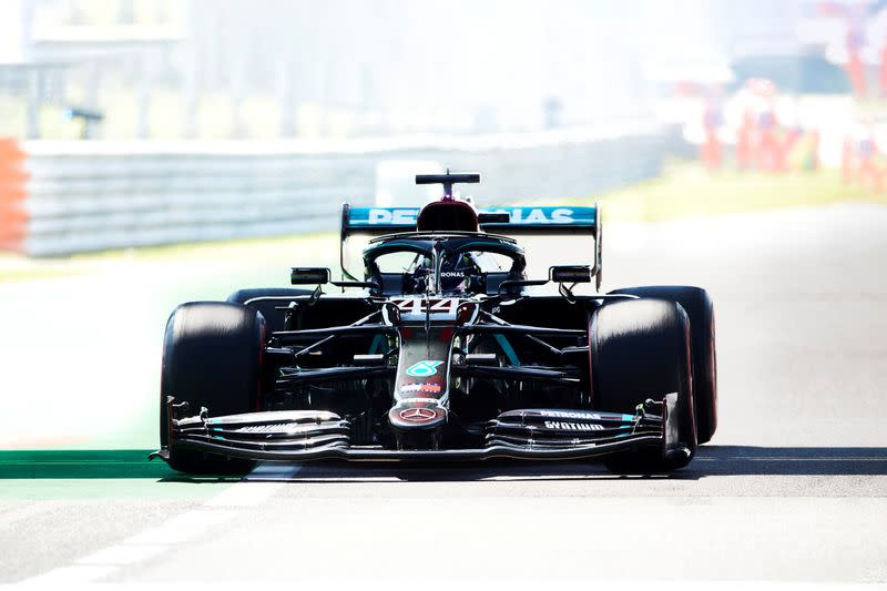Motor racing: Hamilton predicts qualifying 'nightmare' at Monza