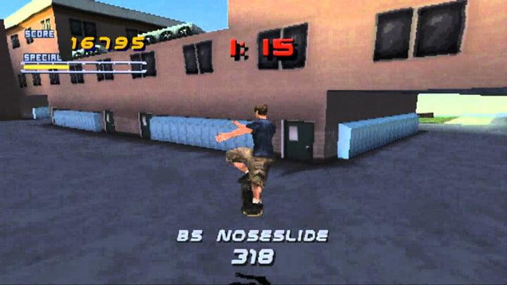 best ps1 games tony hawk's pro skater 2