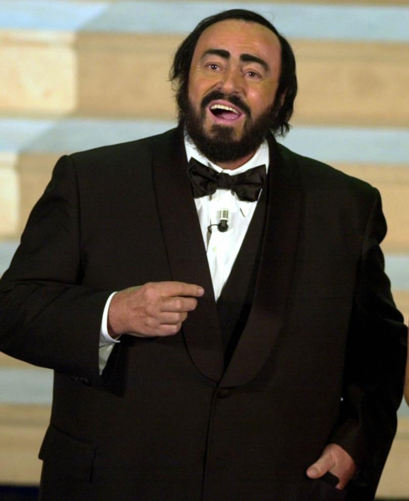 Pavarotti's widow said Trump's campaign was 'against the singer's principles' (AP)