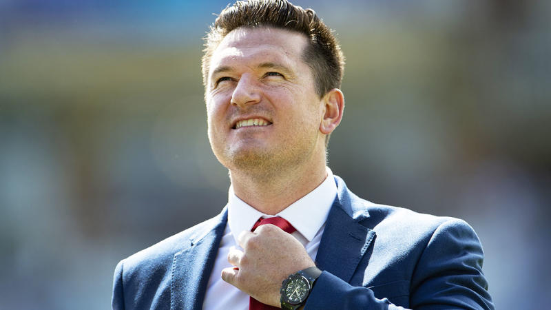 Graeme Smith, pictured here at the 2019 Cricket World Cup in England.