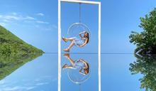 不只天空之鏡!水上相框夢幻拍照打卡點
