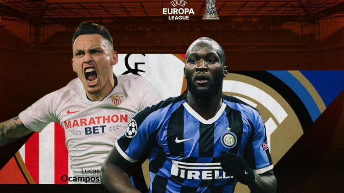 Liga Europa - Sevilla Vs Inter Milan - Head to Head Pemain (Bola.com/Adreanus Titus)