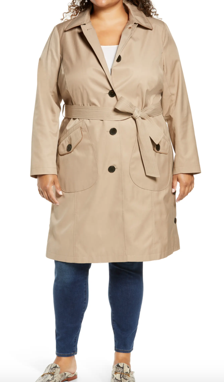 This stylish Sam Edelman trench adds polish to any outfit - just like Meghan Markle's latest look.