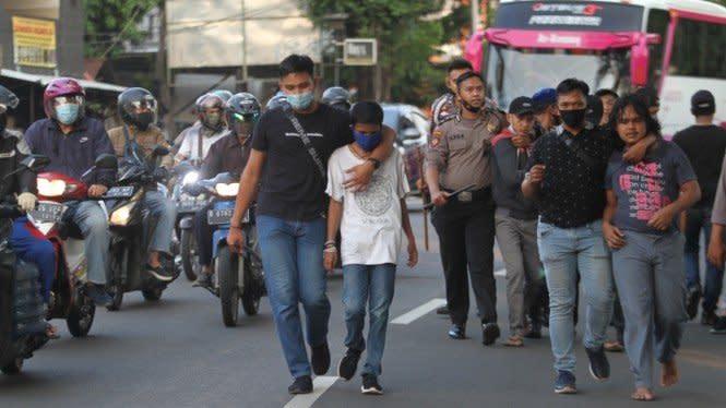 1.000 Orang Perusuh Demo Omnibus Law Dicocok, Kelompok Anarko?