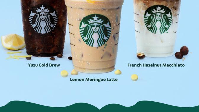 Menyambut musim semi, Starbucks Indonesia menghadirkan beberapa rmenu kopi yang patut dicoba (Foto: Starbucks)