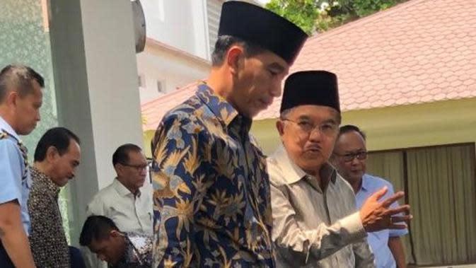 Jokowi: Pak JK Lebih Cerah Wajahnya Setelah Tak Jadi Wapres