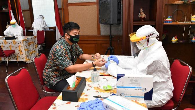 Kementerian Koperasi dan UKM kembali melakukan Rapid Test bagi seluruh Aparatur Sipil Negara (ASN). (Dok Kemenkop)