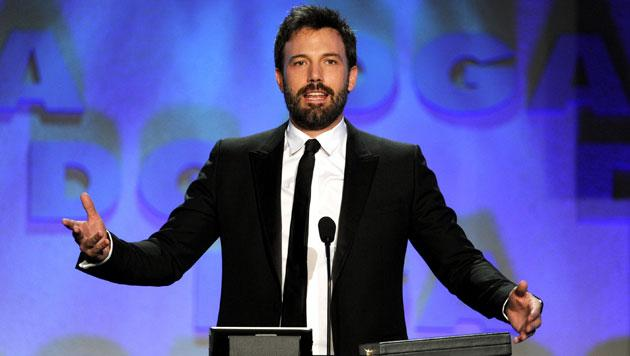 Ben Affleck continues his hot streak with another win at DGA awards for 'Argo'